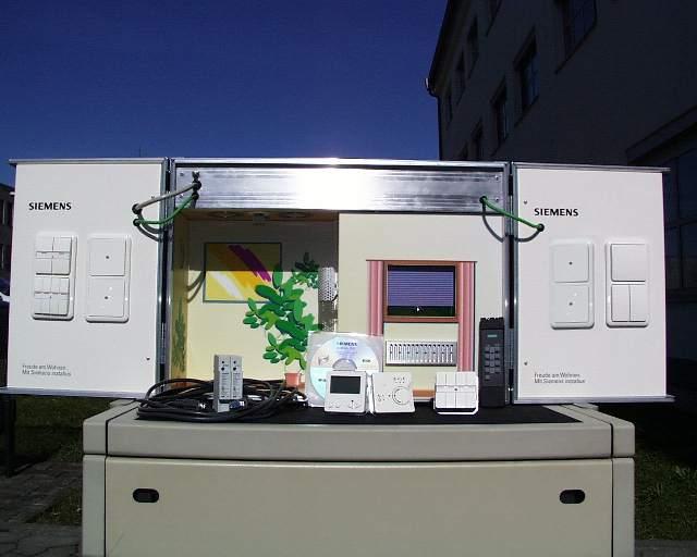 siemens instabus eib schulungs und demokoffer. Black Bedroom Furniture Sets. Home Design Ideas